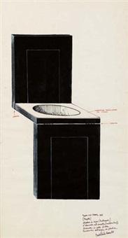 sedia con l'acqua (progetto) by cesare tacchi