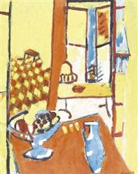 stillleben mit früchteschale und vase by jean-louis piguet