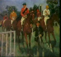 hurst park races by mary cameron