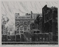 the storm, old chelsea district, ny by grace arnold albee