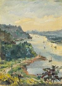landscape by jiang xuanyi