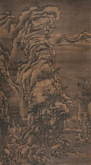 landscape by xu daoning