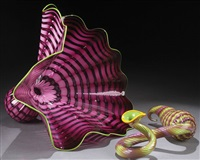imperial iris persian set by dale chihuly