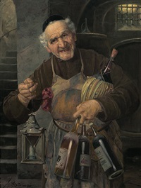 pater kellermeister by josef (wenzel) süss the elder