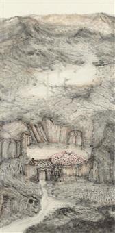 山水 (landscape) by lin shunwen