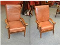 a pair of kendal armchairs by arthur w. simpson