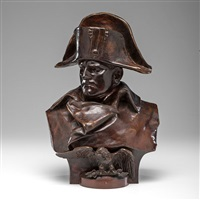 napoleon bronze bust by renzo colombo