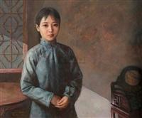 肖像 (portrait) by yuan zhengyang