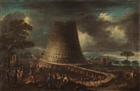 the babel tower by flemish school (17)