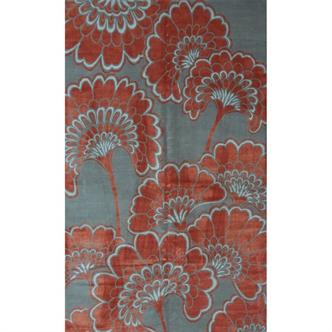 Japanese Floral Area Rug By Florence Broadhurst On Artnet