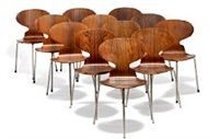 the ant chair (set of 12) by arne jacobsen