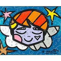 angel by romero britto