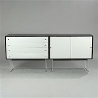 a freestanding sideboard by poul norreklit