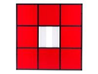 cadre décadré - 04 a4 (rot) by daniel buren