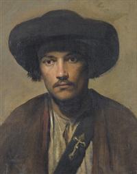porträt eines schäfers by carl probst