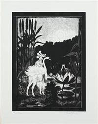 åkandedronningen og svaneridderen (6 works) by thomas arnel