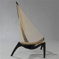 the harp chair by jorgen hovelskov