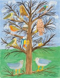 baum mit vögeln by max raffler