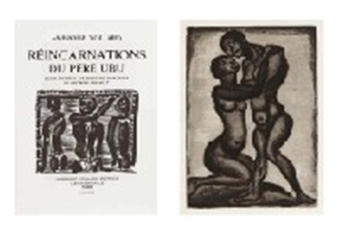 réincarnations du père ubu portfolio of 125 by georges rouault