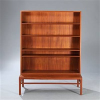 bookcase and low bench/stand by johan hagen