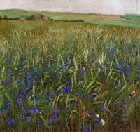 kornblumen by heinrich basedow