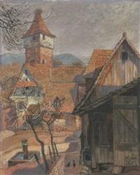 gernsbach im vorfrühling by albert haug