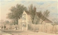roseland cottage, cromwell lane, south kensington by thomas hosmer shepherd