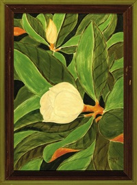 magnolia blossoms by james mcconnell anderson
