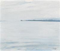préverenges. etude du lac by alfred rehfous