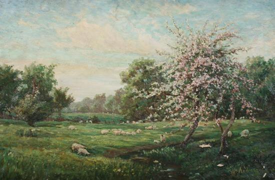 a creekside meadow by john andrews
