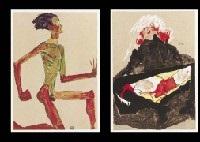 erotica portfolio of 20 by egon schiele