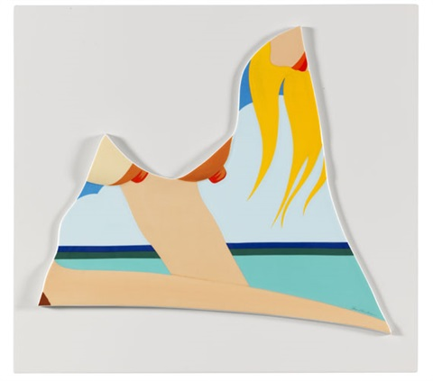 rosenthal wand objekt seascape by tom wesselmann