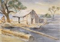 batture shack - carrollton - high water by william henry piggott