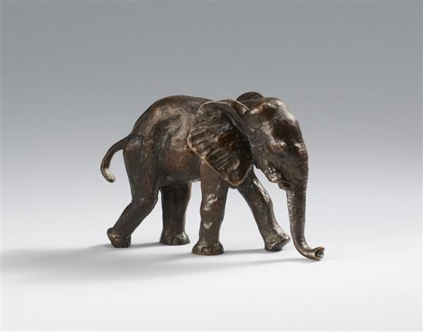 junger elefant by renée sintenis