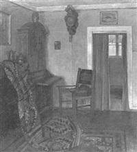 interieur eines lübecker wohnzimmers aus dem st. annen-museum by waldemar rosatis