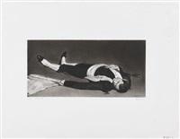ohne titel (nach manet toter torero) by robert longo