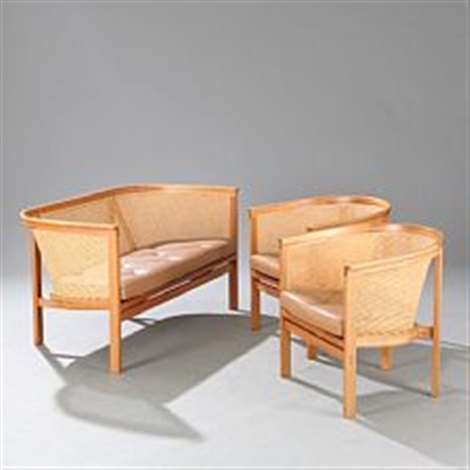The Kingu0027s Furniture (sofa And Two Chairs) By Rud Thygesen And Johnny  Sørensen