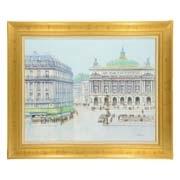 paris, la place de l'opera by h. rolf rafflewski