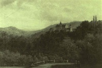 schloss schoenberg by wilhelm fries