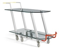 hilton serving cart by javier mariscal