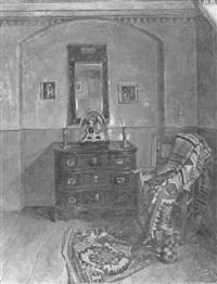 interieur einer lübecker wohndiele aus dem st. annen-museum by waldemar rosatis