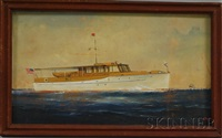 portrait of the yacht archwood by joe selby