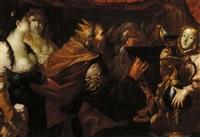 incoronazione di re salomone by gioacchino assereto