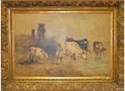 peinture de vaches by henry schouten