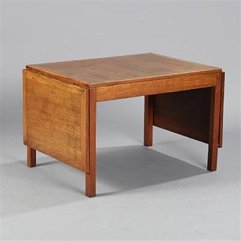 Coffee Table With Drop Leaves Model 5360 By Børge Mogensen