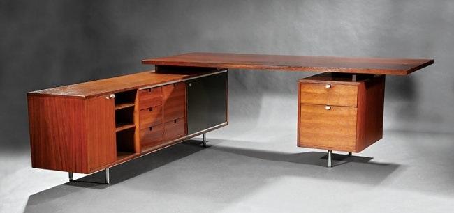 Herman Miller Executive Desk By George Nelson On Artnet