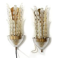 large wall lamps (pair) by carl fagerlund