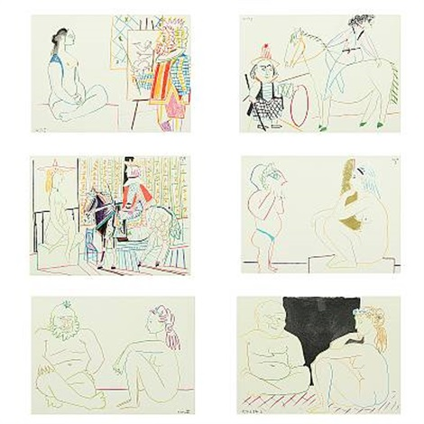 La Comedie Humaine 6 Works By Pablo Picasso On Artnet
