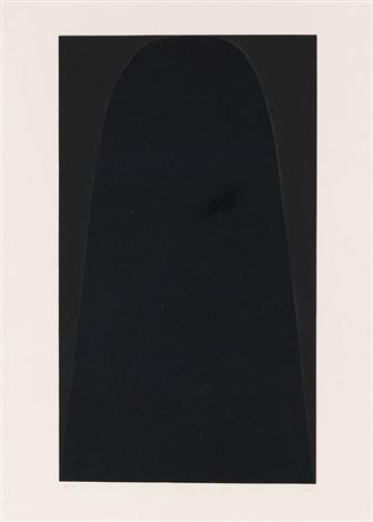 bianchi e neri ii portfolio of 6 wtitle colophon by alberto burri