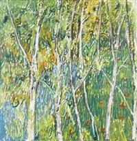 ambiance forestière au ruisseau by jean-louis piguet